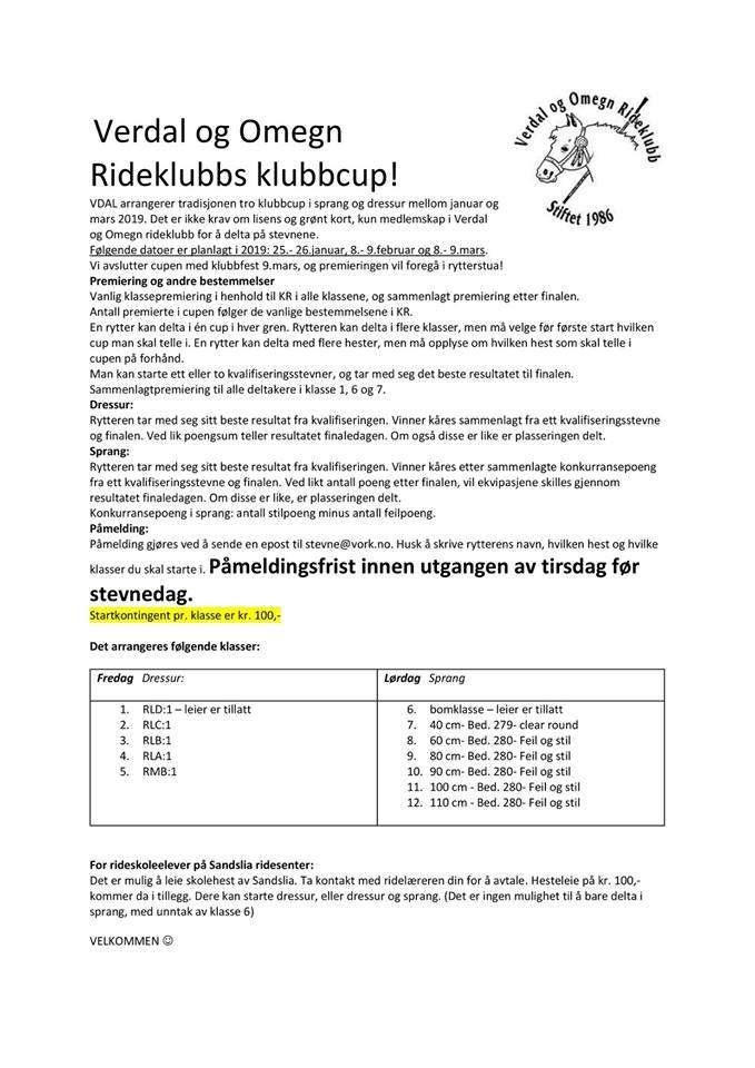 klubbcup 2019