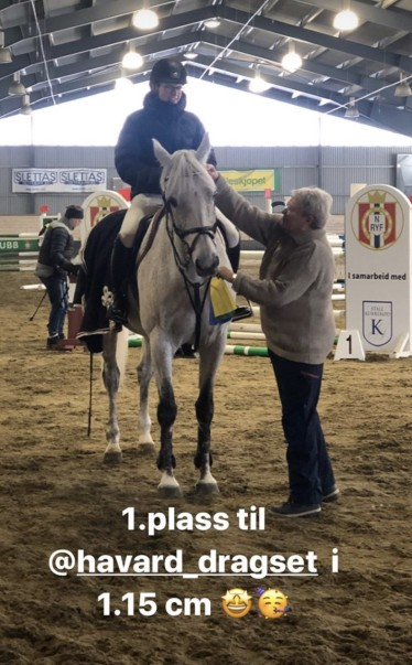 Håvard og Chiara 1. plass 1.15